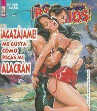 SENSACIONAL DE BARRIOS MEXICAN COMIC #465 MEXICO SPANISH SPICY HISTORIETA 1997