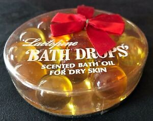 "Vintage 1950s MCM Lactopine ""Bath Drops"" Scented Bath Oil for Dry Skin NEW RARE!"