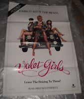 1986 VALET GIRLS VIDEO MOVIE POSTER SEXPLOITATION SEXY GIRLS MERI MARSHALL