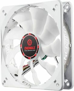 Enermax Cluster Advance APS 120mm White LED Case Fan - Single Fan