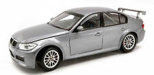 Bmw 320 Si Wtcc Test Car Silver 1:18 Model GUILOY