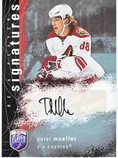 PETER MUELLER 07-08 UD Be A Player Signatures AUTO