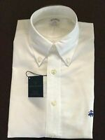 NWT BROOKS BROTHERS 1818 MEN REGENT ORIGINAL POLO NON IRON SUPIMA WHITE S_2XL