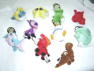 """NEOPETS Plush Limited Edition 4"""" McDonalds Mini Stuffed Toy Lot of 10 LOT 1"""