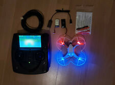 ** Hubsan X4 107D Quadrocopter FPV 720 HD Camera Mini Racing Drohne **