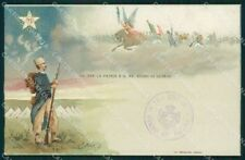 Militari 92 Reggimento Fanteria cartolina MT8923