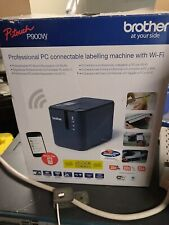 Brother P-touch PT-P900W Desktop Thermal Transfer Printer, Monochrome, 3.15 in/s