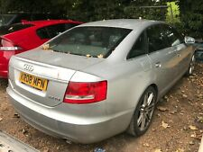 2008 AUDI A6 2.7 TDI LE MANS M-T SALOON, LEATHER, NAV **NON RUNNER, TURNS OVER**