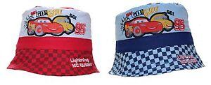 Disney Cars Lightning McQueen Baby Boy Girl Sun Hat Cap Bucket hat