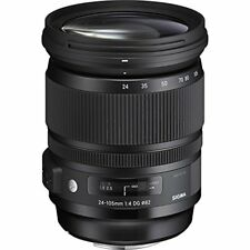 Sigma 24-105mm F4.0 Art DG HSM Zoom Lens for Sony Alpha Cameras - Super Deal