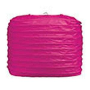 "2 hot pink paper square lanterns 8"" wedding party decorations"