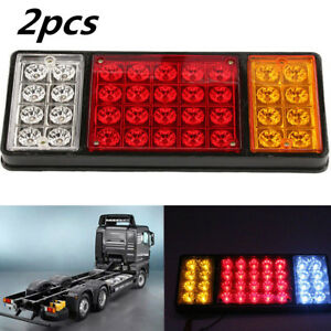 Tail Lights Rear Ute Trailer Caravan Truck Boat Car Indicator Lamp 2 pcs 36 LED