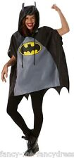 Uomo Donna Festival Essential Batman Impermeabile Costume Poncho Accessorio
