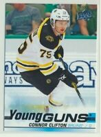 2019-20 Upper Deck Series 1 Young Guns Rookie 243 Connor Clifton Boston Bruins