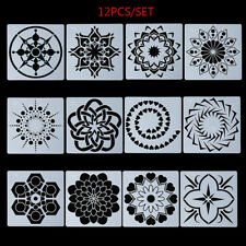Embossing Layering Stencils Mandala Auxiliary Painting template Scrapbooking