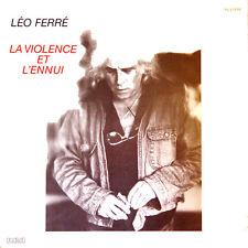 LEO FERRE La Violence Et L' Ennui FR Press Rça 37470 1980 LP