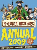 """""""VERY GOOD"""" Horrible Histories Annual, 2009, Deary, Terry, Book"""