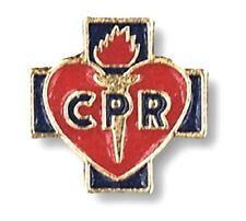 CPR Red Cross Lapel Collar Pin Cap Tac Medical Insignia EMT EMS Professional New