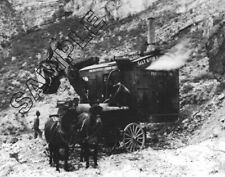 OSGOOD Steam Shovel ca.1923-24 @ Mormon Flat Dam, Arizona 8x10 B&W Glossy Photo