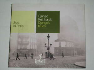 DJANGO REINHARDT-DJANGO'S BLUES // JAZZ IN PARIS 15-TRACK CD 2001 GYPSY JAZZ