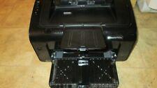 HP LaserJet Pro P1102W Wireless Wired Laser Printer  (Black)