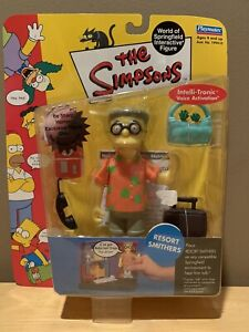 """Simpsons Playmates WOS Series 10 -- """"Resort Smithers"""" Action Figure -- NEW !!!!"""