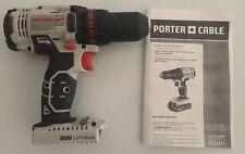 "PORTER CABLE PCC601 20V 20 Volt Max Lithium-Ion Cordless 1/2"" Drill Driver"