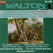 Walton: Christopher Columbus suite, Anon In Love Etc, Hickox, Gomez, Finnie - CD