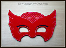 Handmade Kids Mask - Owlette from PJ Mask - Disney