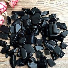 50g Bulk Black crystal Tumbled Stones Small Natural Crystals