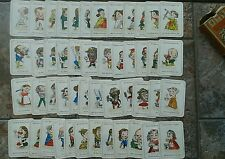 Vintage Happy Families by John Jaques Series 1 & 2 Complete Original Cards
