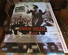 THE ROLLING STONES~GIMME SHELTER 1990's FOLDED FRENCH 1-PANEL MOVIE POSTER/LARGE