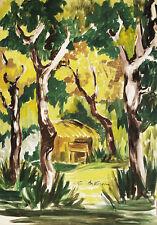 CAPANNO CACCIA HUNT - Dipinto Originale a Olio - Oil Painting - Gino da Verona