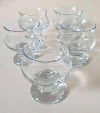 "5x Cocktail Glas Holmegaard ""Tivoli Copenhagen"" Per Lütken set glass annees 70"