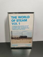 THE WORLD OF STEAM VOL 1 (Steam Train Cassette Tape) : TESTED
