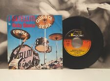 "I SATELLITI DI RICKY GIANCO - QUESTA SERA / FINIRA' 7"" 45 GIRI BEAT ITA 1965"