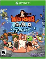 Worms W.M.D All-Stars USED SEALED (Microsoft Xbox One, 2016)