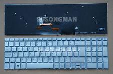 NEW for SONY SVF1521A1E SVF1521A2E SVF1521A4E Keyboard Backlit No FRA Silver UK