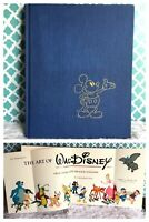 Vintage The Art of Walt Disney Book Finch Abrams Mickey Mouse Magic Kingdom '75