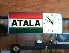 ATALA BICYCLES Vintage Clock Lighted advertising Sign