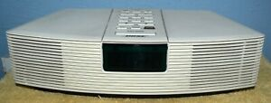 BOSE AWR1-1W ACOUSTIC WAVE CLOCK RADIO WHITE MADE IN USA