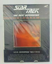 Star Trek Hologram U.S.S. Enterprise NCC-1701D 1991 New Sealed In Factory Wrap
