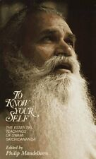 To Know Your Self: The Essential Teachings of Swam