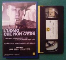 VHS FILM Ita Drammatico L'UOMO CHE NON C'ERA billy thornton ex nolo no dvd(VH73)