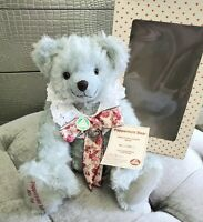 "Hermann Spielwaren Peppermint Bear Mohair Limited Edition GROWLER 16"" Germany"