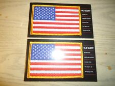 Two Booklets Us postage Stamps .37 Cent Old Glory Booklet of 20 Stamps 3776-3780