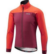 Madison RoadRace Apex men's softshell jacket, classy burgundy / chilli red large