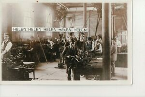 HULL  THIS IS A VIEW OF THE BOYS WORKING IN THE MACHINE SHOP OF THE COLLEGE.