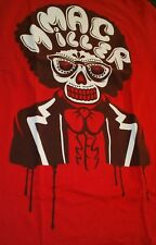MAC MILLER MUSIC LEGEND 2012 UNDER THE INFLUENCE OF MUSIC CONCERT RED SHIRT SZ M