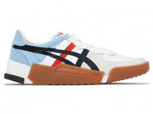 Asics Onitsuka Tiger MENS Shoes D-TRAINER GC 1183A800 UNISEX WHITE / MIDNIGHT